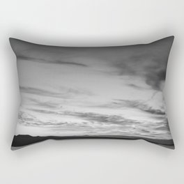 B&W Auckland Sunset Rectangular Pillow