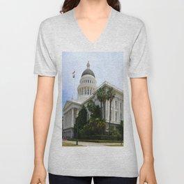 California State Capitol Unisex V-Neck