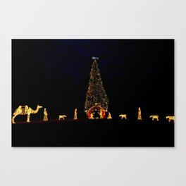 Christmas in Rome Canvas Print