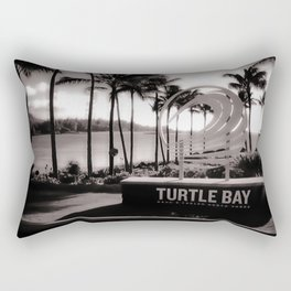 Turtle Bay Resort Hawaii Rectangular Pillow