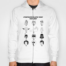 Stormtrooper Blaster Target Cheat Sheet Hoody