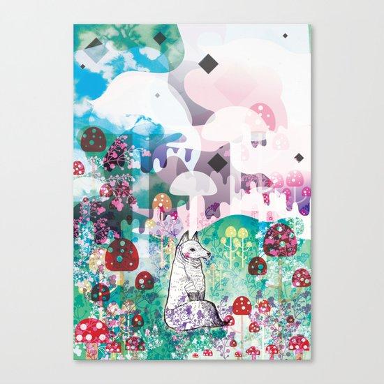 Wonder World Canvas Print