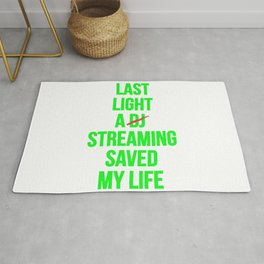 Last night a streaming saved my life | Who is the Dj here? Rug