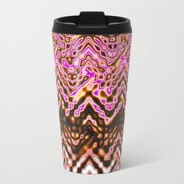 1000 Little Islands (ochre-pink) Travel Mug