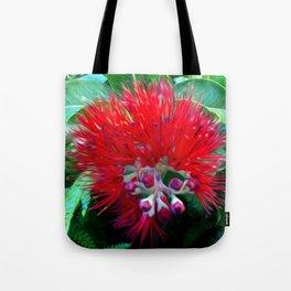 Liko Lehua - Budding Lehua Blossom Tote Bag