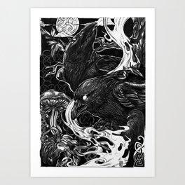 -Messengers- Art Print