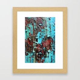 Magic Skin texture  Framed Art Print