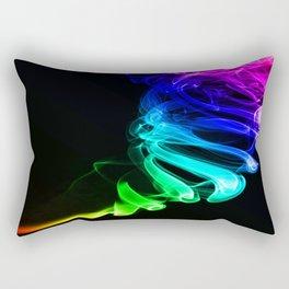 Rainbow smoke Rectangular Pillow