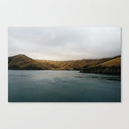 South Island Hills, New Zealand Canvas Print