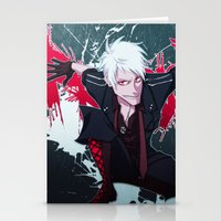 hetalia Stationery Cards featuring APH: Prussia by Jackce