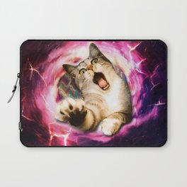 Galaxy Cat Hole Laptop Sleeve