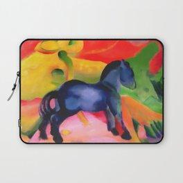 "Franz Marc ""Little Blue Horse"" Laptop Sleeve"