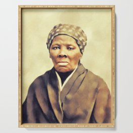 Harriet Tubman, Civil Rigts Activist Serving Tray