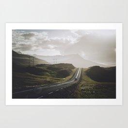 Road One Art Print