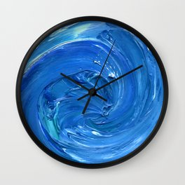 Lapeda Textile Art - 14 Wall Clock