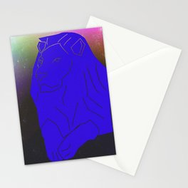 Space Lion Stationery Cards