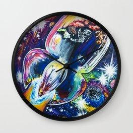 Squeezing Tinman 12 Wall Clock