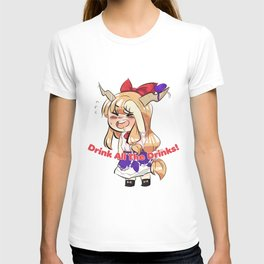 Suika Drinks Responsibly  T-shirt