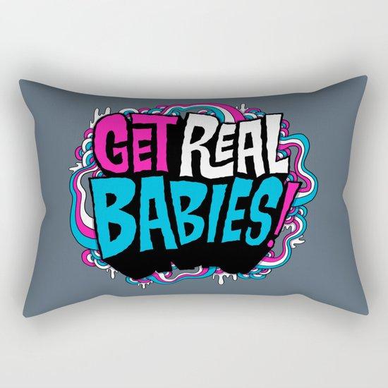 Get Real.... Rectangular Pillow