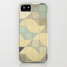 São Paulo Tile Pattern iPhone Case