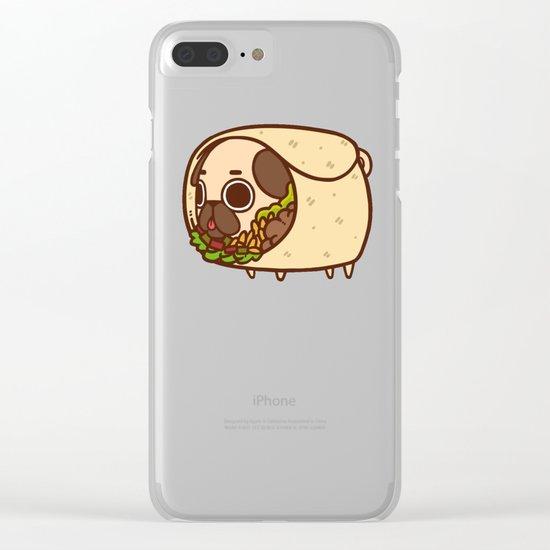 Puglie Burrito Clear iPhone Case