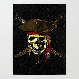 The Dark Eyes Of Pirates Poster