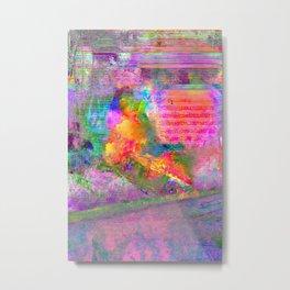 Burner Metal Print