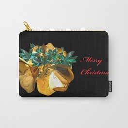 Fractal Christmas Bells Carry-All Pouch
