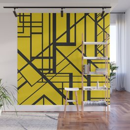 Roadway Of Abstraction - Interstate Abstract Path Wall Mural