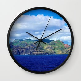 Kauai's Bright Welcome Wall Clock