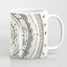 Moon Phase Mountain Mandala Coffee Mug