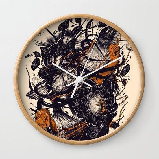 Natural Mystic Wall Clock