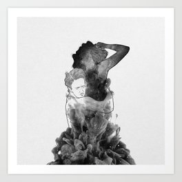 Can't make it without you. Art Print