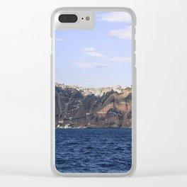Santorini, Greece 17 Clear iPhone Case