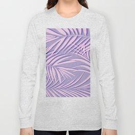 Violet palm leaf Long Sleeve T-shirt