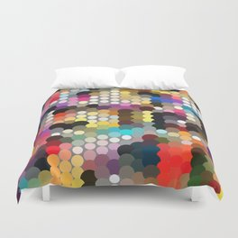 Forest of dots gg Duvet Cover