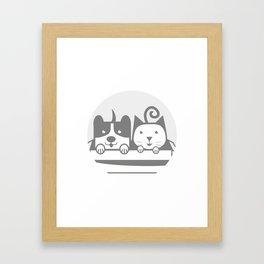 my Pets 02 Framed Art Print
