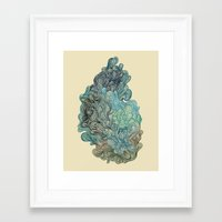 friday Framed Art Prints featuring Friday Afternoon by Marcelo Romero