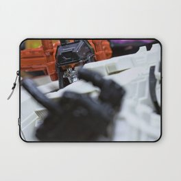 I AM METROPLEX.....AND I WILL F$%# YOU UP!!! Laptop Sleeve
