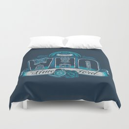 Infinite Who Duvet Cover