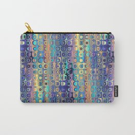 Bright Glowing Dots Pattern Carry-All Pouch