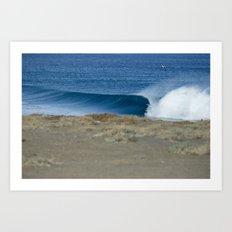 Empty Runner, Baja Art Print