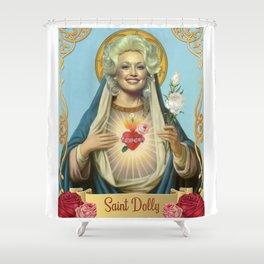 Saint Dolly Parton Shower Curtain
