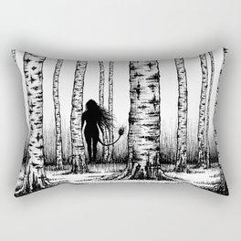 Wood Nymph Rectangular Pillow