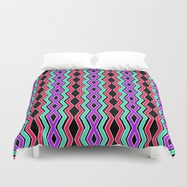 Bright Cheveron Duvet Cover
