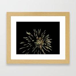 A Work of Fire Framed Art Print