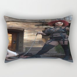 Reclamation By Karmenife Paulino and Tess Altman  Rectangular Pillow
