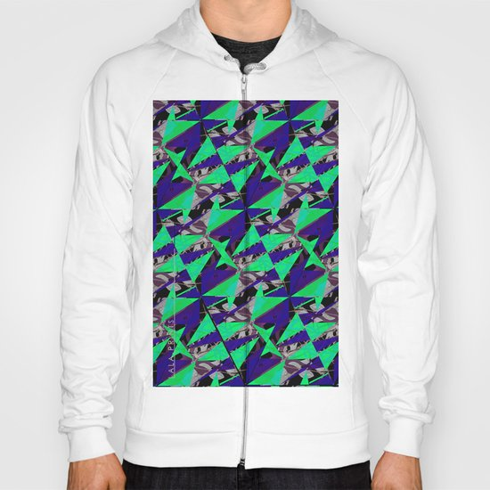 Colorful Triangles. Hoody