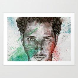 Pretty Noose: Tribute to Chris Cornell Art Print