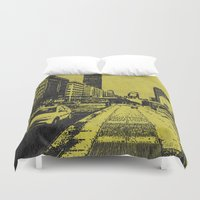 milan Duvet Covers featuring Milan 2 by Anand Brai